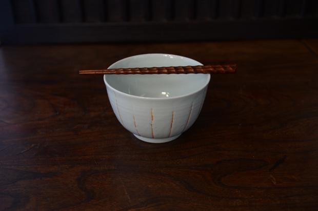 土井善男 白磁火色抜き丼