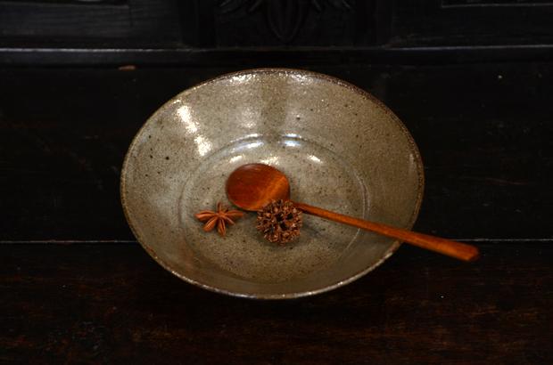 寺村光輔 長石釉6.5寸浅鉢