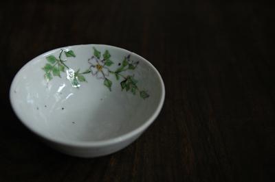 藤吉憲典 野バラ文小鉢