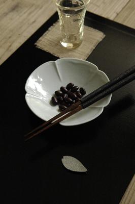 土井善男 木瓜4.5寸皿