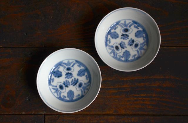 清水なお子 花弁文4寸小鉢