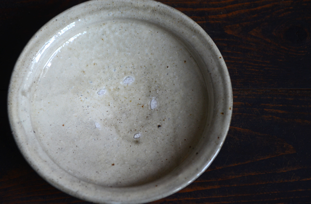 光藤佐 粉引7.5寸鉢