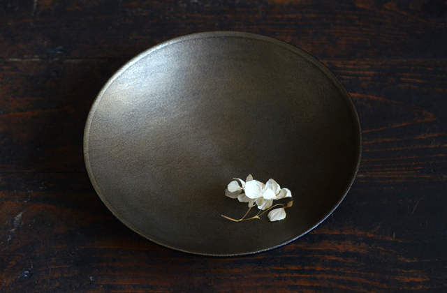 蜂谷隆之 8寸浅鉢