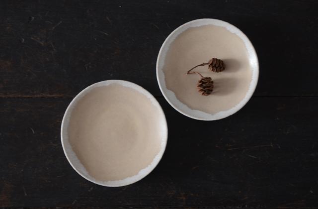 鈴木宏美 桜鼠宵色4寸皿