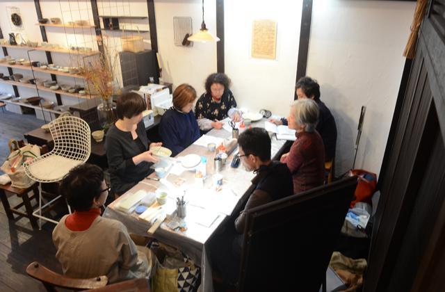 天野志美さんの金継教室 3回目