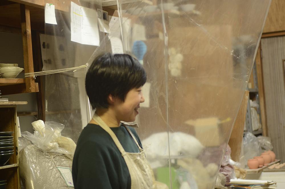 相模原の田谷直子さんの工房にお邪魔しました