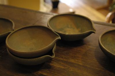 松村英治 焼締片口鉢