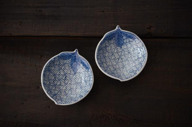 藤吉憲典 地文桃型小皿