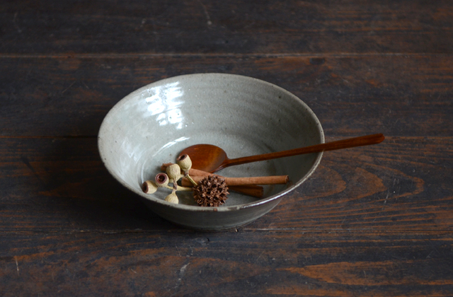 寺村光輔 泥並釉6.5寸鉢