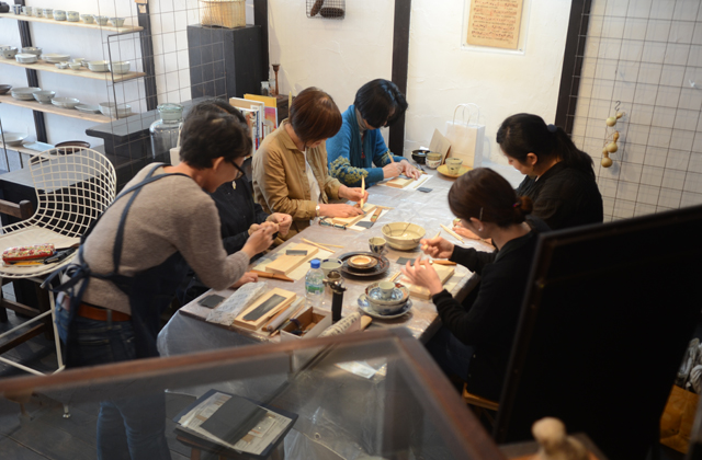 天野志美さんの金継教室 第2期はじまりました。
