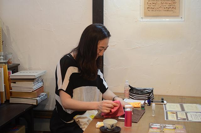 長沼絵理さんによるスマホコーティング会を開催しました