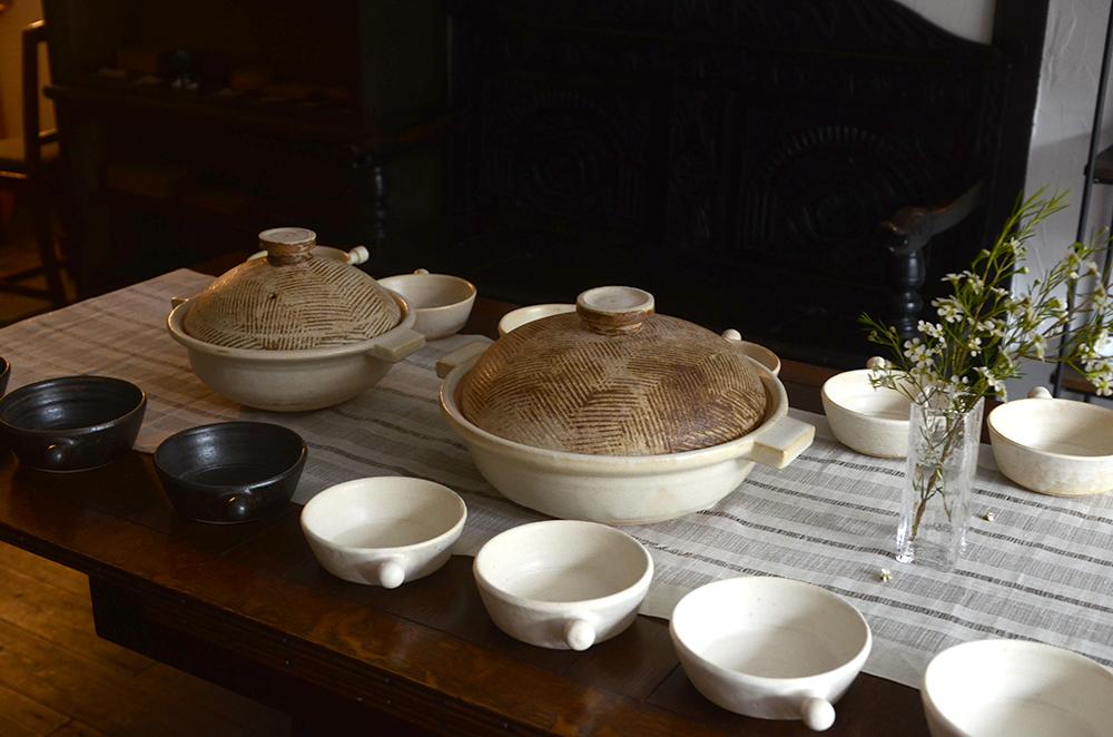 京都の高木剛さんから高台皿ほか届いています