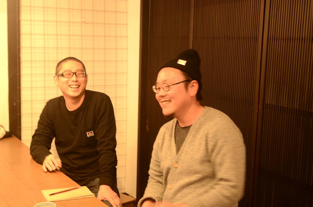 田井将博さんと高木剛さんがやってきた!