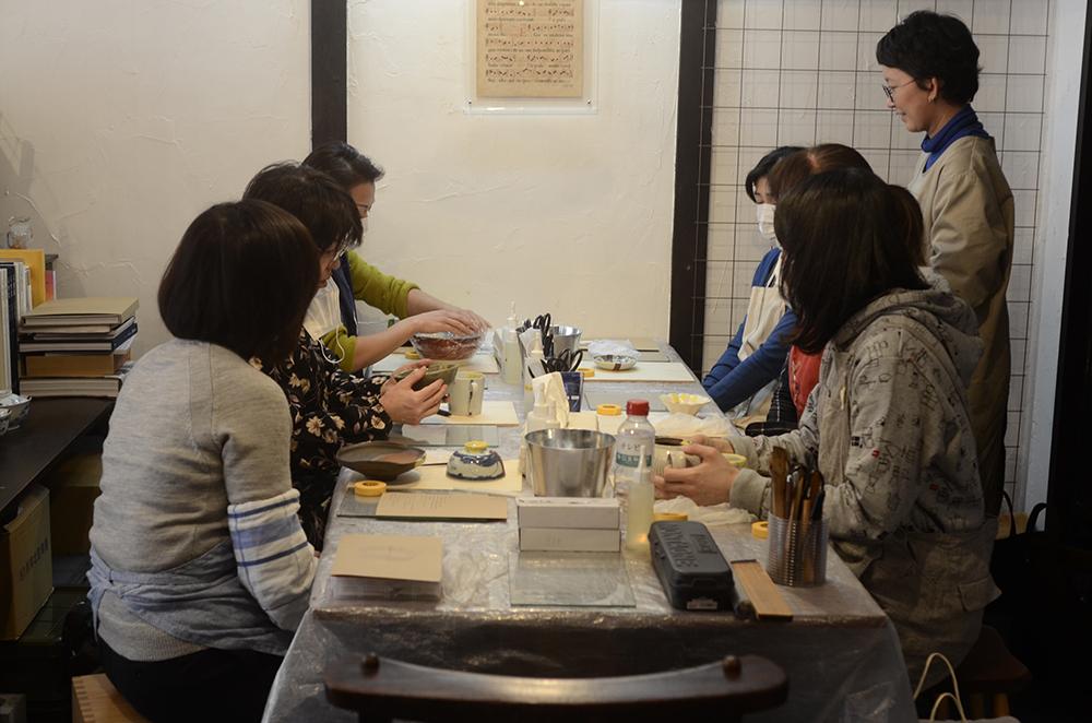 天野志美さんの金継教室1回目でした