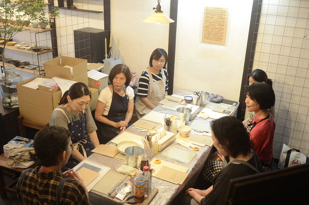 天野志美さんの「はじめての金継教室」 第1回目