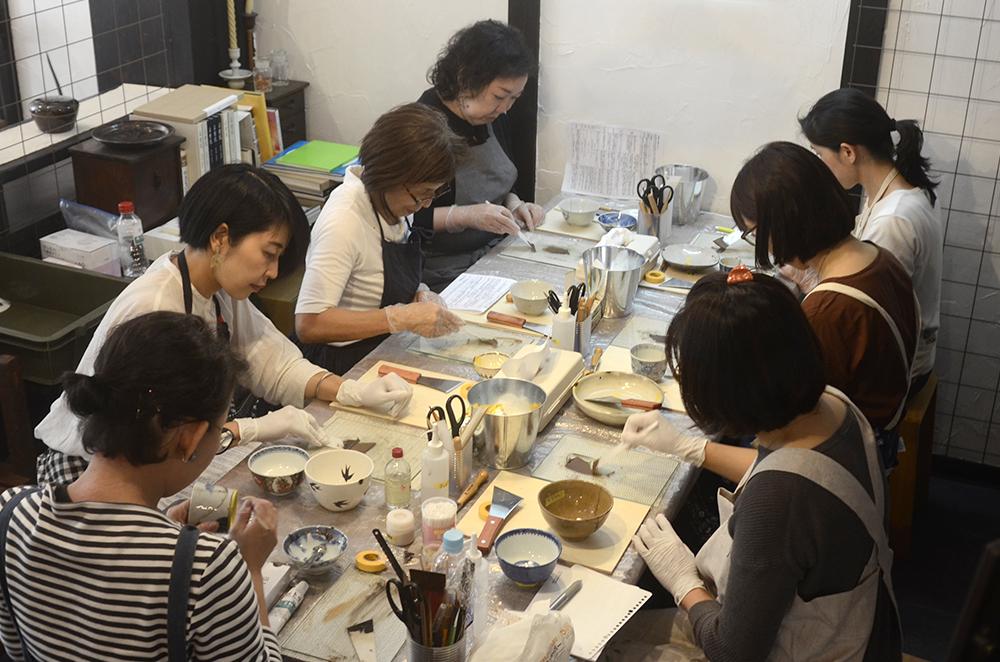 天野志美さんの「はじめての金継教室」 第3回目