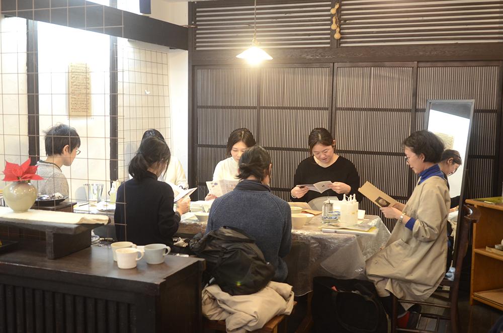 天野志美さんの金継教室 第一回目でした。
