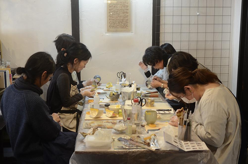 天野志美さんの金継教室第2回目と補講