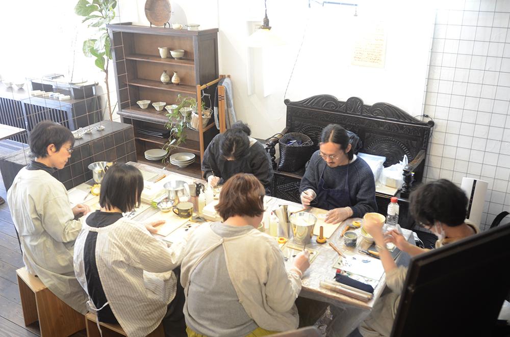 天野志美さんの金継教室 4回目でした
