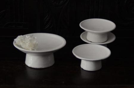 高木剛さんの高台皿が入荷しました 完売