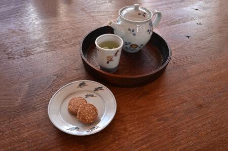 色絵の器をつかう 清水なお子さんの器でお茶